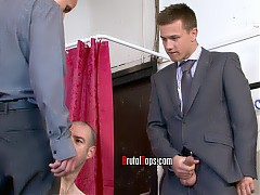 Suited and Booted Oral Bullies - Rimming - Double BJs - Deep Throat - Boot Worship - Kissing