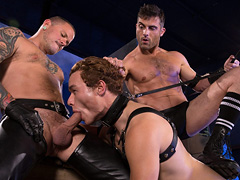 Gay BDSM sex